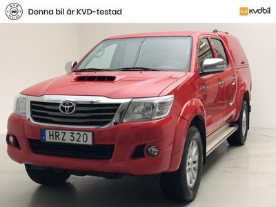 begagnad Toyota HiLux Dubbelhytt 3.0 D-4D 4WD (171hk)