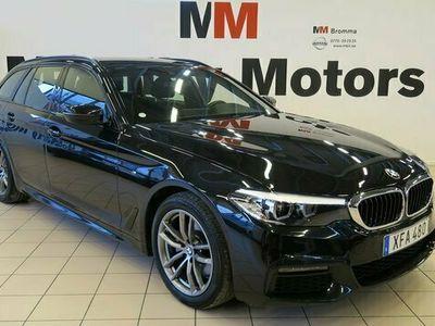begagnad BMW 520 Kombi d Touring M Sport DRAG Head-up KAMERA NAVI diesel automat SVART