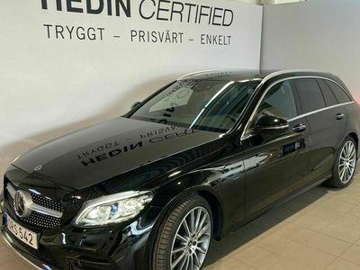 begagnad Mercedes C300 - BenzDE KOMBI AMG PREMIUM PLUS