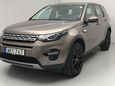 begagnad Land Rover Discovery Sport 2.0 TD4 AWD (180hk)