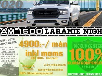 begagnad Dodge Ram LARAMIE ALL-NIGHT 100% Klimatkompenserad