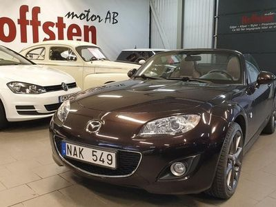 begagnad Mazda MX5 Miata Soft-top 1.8 2012, Cab 142 900 kr