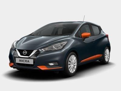 gebraucht Nissan Micra IG-T 90 Acenta LED Exeriort Pack Orange