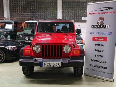 begagnad Jeep Wrangler 4.0 V6 4WD Automat 177hk/ LÅGMIL