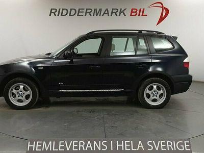 begagnad BMW X3 2.0d, E83 (177hk)