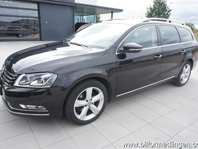 begagnad VW Passat 2.0 TDI BlueMotion Variant 140hk Skinn Drag Navi Backkamera