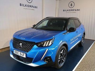 begagnad Peugeot 2008 GT-Line PT Demobil 2020, SUV 244 900 kr