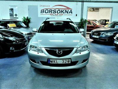 begagnad Mazda 6 Wagon 2.3 MZR Sport Ny Servad Ny Besiktad 166hk