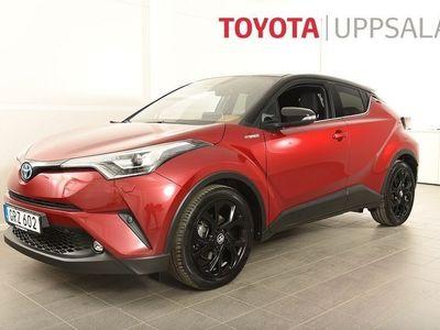 begagnad Toyota C-HR 1,8 X-edition Skinn Bi-tone Teknik JBL