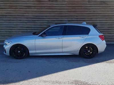 begagnad BMW M135 i xDrive Skinn T-lucka Navi H/K 326HK