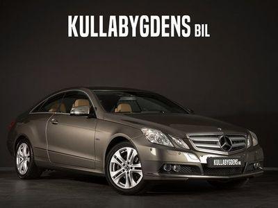 begagnad Mercedes E250 CGI Coupé | En ägare | Navi | Bluetooth