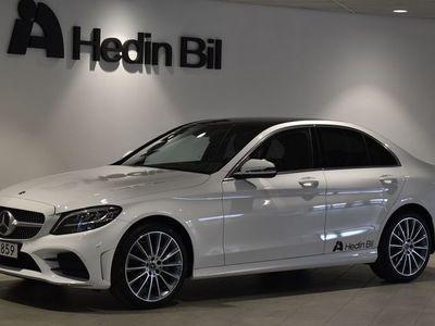 used Mercedes C220 220 d // Navigation // Panoramatak // Backkamera // AMG