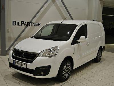 begagnad Peugeot Partner L2 PRO+ BlueHDi 100hk /Skatt 1.103kr /