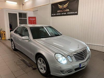 begagnad Mercedes E320 CDI Avantgarde Automat GPS Drag Sv-Såld 0:- KONTANT