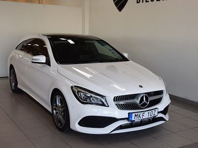 begagnad Mercedes CLA200 Shooting Brake d 7G-DCT AMG Panorama Euro 6 136hk