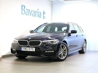 begagnad BMW 520 d xDrive Touring M-sport Connected Travel Winter Drag Nypris
