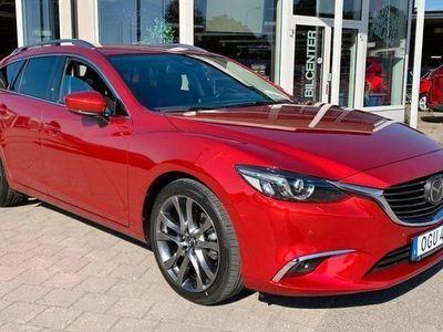 begagnad Mazda 6 6Wagon 2.2 AWD OPTIMUM 3106 m 2017, Kombi 244 000 kr