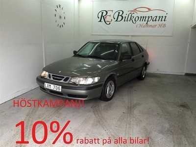 begagnad Saab 9-3 SE 2.0T 154hk Nybes,Nyserv, Drag!