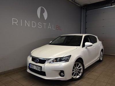 begagnad Lexus CT200h AUT NYBES HYBRID 2012, Halvkombi 119 900 kr