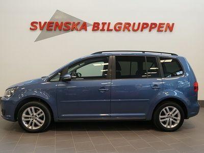begagnad VW Touran 1.4 TSI EcoFuel 7-Sits Aut Drag Aux S+V-hjul