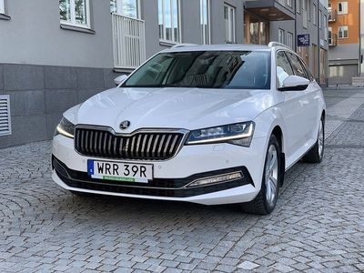 begagnad Skoda Superb Kombi 2.0 TDI 4x4 DSG Businessline Eu6 190hk