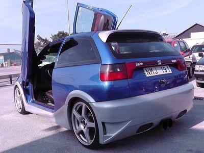 begagnad Seat Ibiza Cupra 16V Showbil Lambodörrar