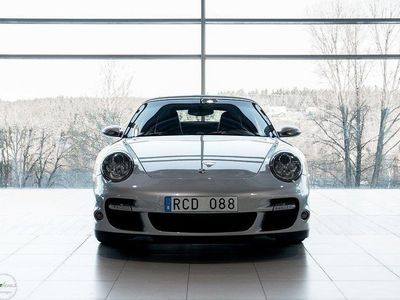 begagnad Porsche 997 Turbo Cabriolet 480hk - Man