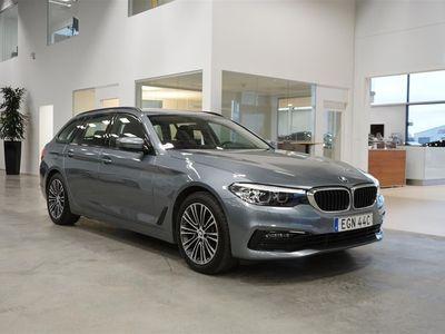 begagnad BMW 520 d xDrive Touring Sportline Nav Värmare Drag