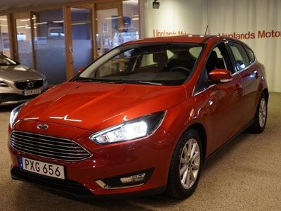 begagnad Ford Focus 1.0 125 Titanium 5-d