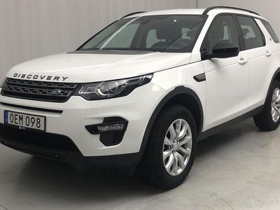 begagnad Land Rover Discovery Sport 2.0 TD4 AWD