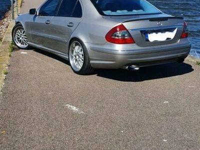 begagnad Mercedes E420 CDI e63 optik