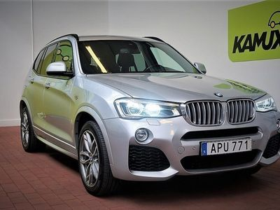 begagnad BMW X3 30d xDrive M-Sport Navi Drag Momsbil S&V Hjul