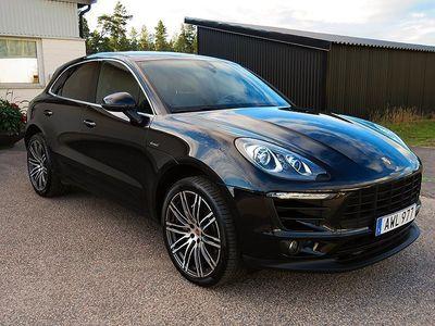 begagnad Porsche Macan S Diesel Sport Chrono Euro 6 258hk