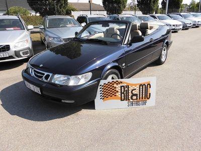 begagnad Saab 9-3 Cabriolet 2.0 Turbo 185hk