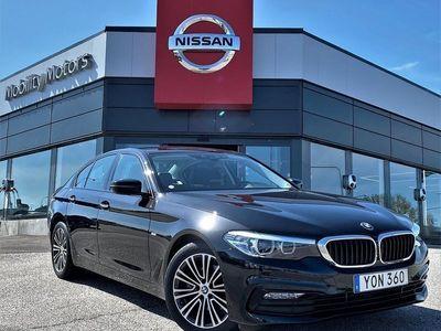 begagnad BMW 520 d xDrive Sedan Steptronic Sport line Euro 6 2018, Sedan 379 900 kr