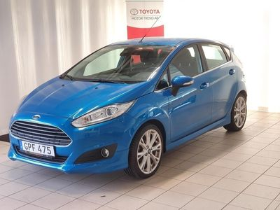 begagnad Ford Fiesta 5-dörrar 1.0 EcoBoost Euro 6 100h -15