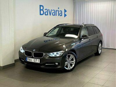 begagnad BMW 320 d Touring Sport Line Navigation HiFi Drag