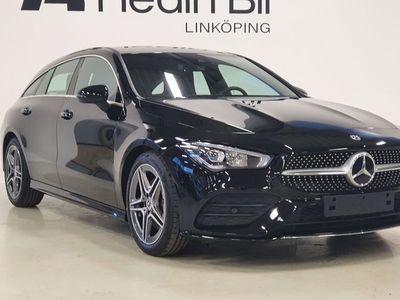 begagnad Mercedes CLA200 Shooting Brake D AMG-LINE APPLE-CARPLAY PARKERINGSVÄRMARE