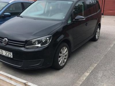 begagnad VW Touran Cross 1.4 TSI EcoFuel/AUTOMA -11