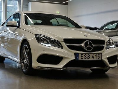 begagnad Mercedes E220 Coupé AMG Sport Navi BlueEFFICIENCY 170hk