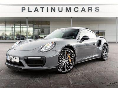 begagnad Porsche 991 Turbo S ALCANTARA KERAMISKA 2017, Personbil 1 564 000 kr