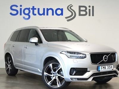 begagnad Volvo XC90 T5 AWD Geartronic R-Design Euro 6 7-sits 250hk