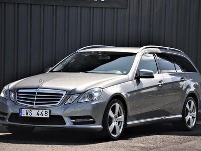 begagnad Mercedes E220 CDI Nav Drag Skinn