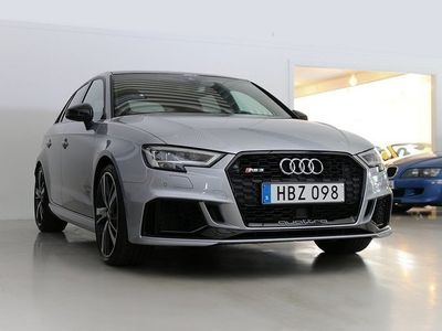 begagnad Audi RS3 Sportback quattro 400hk 270 mil -18