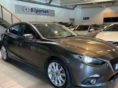 begagnad Mazda 3 32.0 Skinn, Navi, Head up SKYACTIV-G Euro 6 2016, Halvkombi Pris 149 900 kr