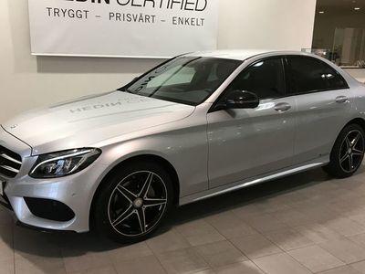 begagnad Mercedes 220 - Benz C - Klassd 4MATIC 9G - Tronic AMG - Line