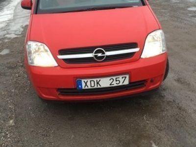 begagnad Opel Meriva 1.6 röd. (101hk). -06