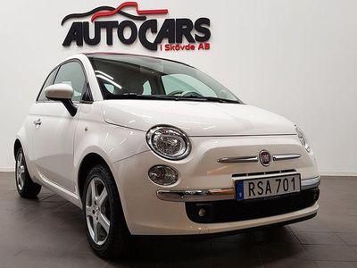 begagnad Fiat 500C 1.2 Cab Lounge 1246 mil | Finans