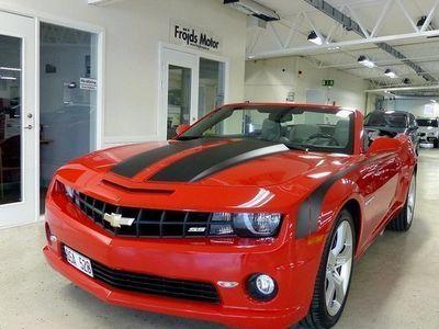 gebraucht Chevrolet Camaro SS6.2 V8 Automat Cabriolet 2012, Personbil 309 500 kr