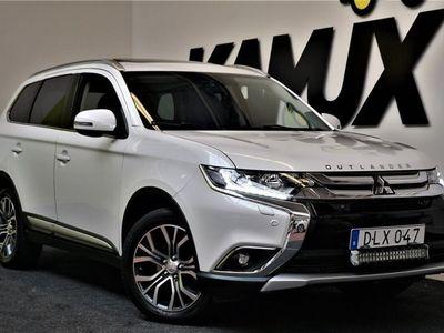 begagnad Mitsubishi Outlander 2.2 | 4WD | Drag | Taklucka | 7-Sits
